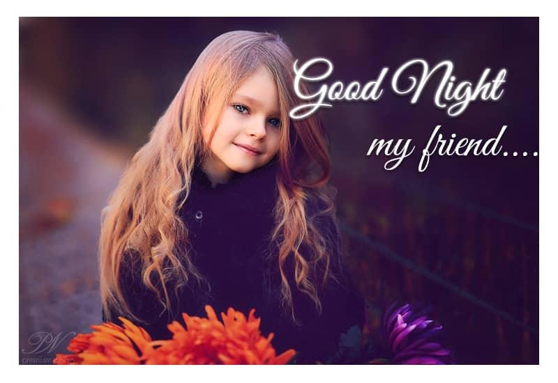 Good Night My Friend Good Night Wishes Premium Wishes