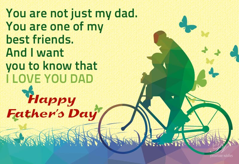 Love You Dad Happy Fathers Day Specials Premium Wishes