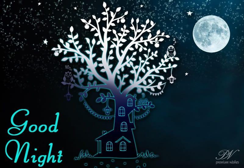 Good Night Dear Friend Good Night Wishes Premium Wishes